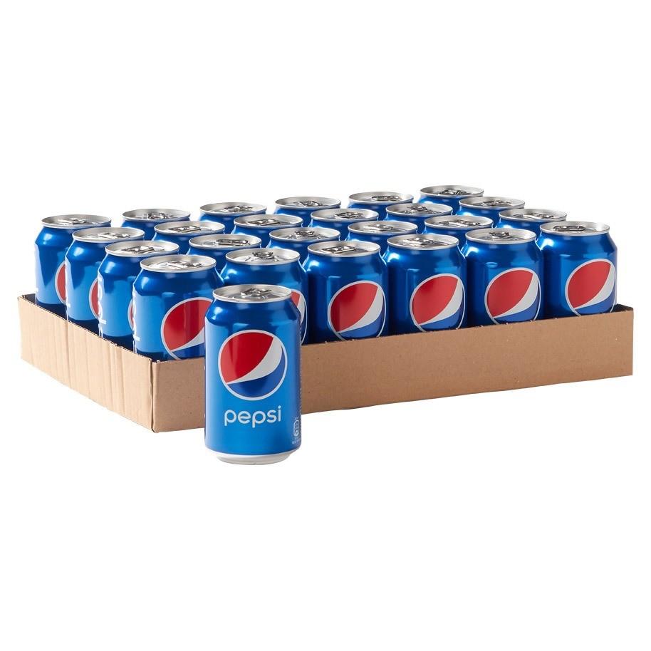 Pepsi cola blikjes 24x0,33L