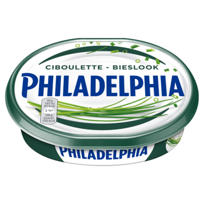 Philadelphia bieslook light 185 gram