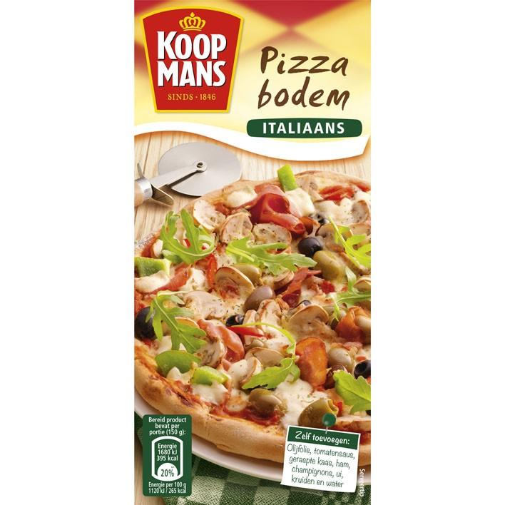 Pizzabodemmix italiaans Koopmans 450 gram