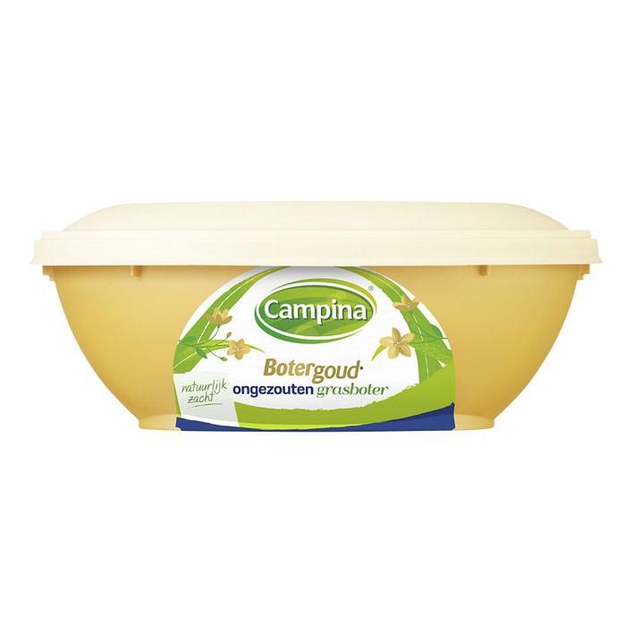 Roomboter Campina smeerbaar ongezouten 225 gram