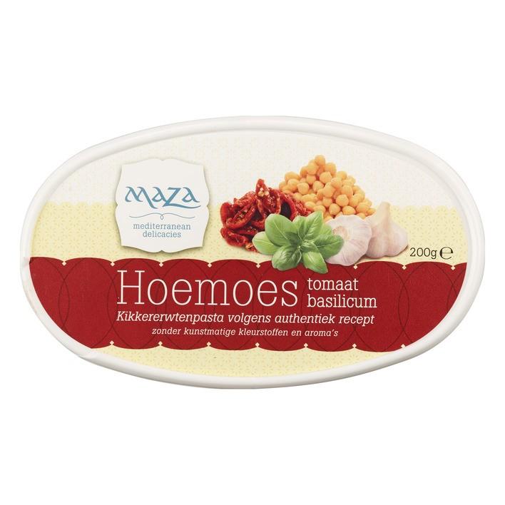 Salade hoemoes Maza zongedroogd 200 gram