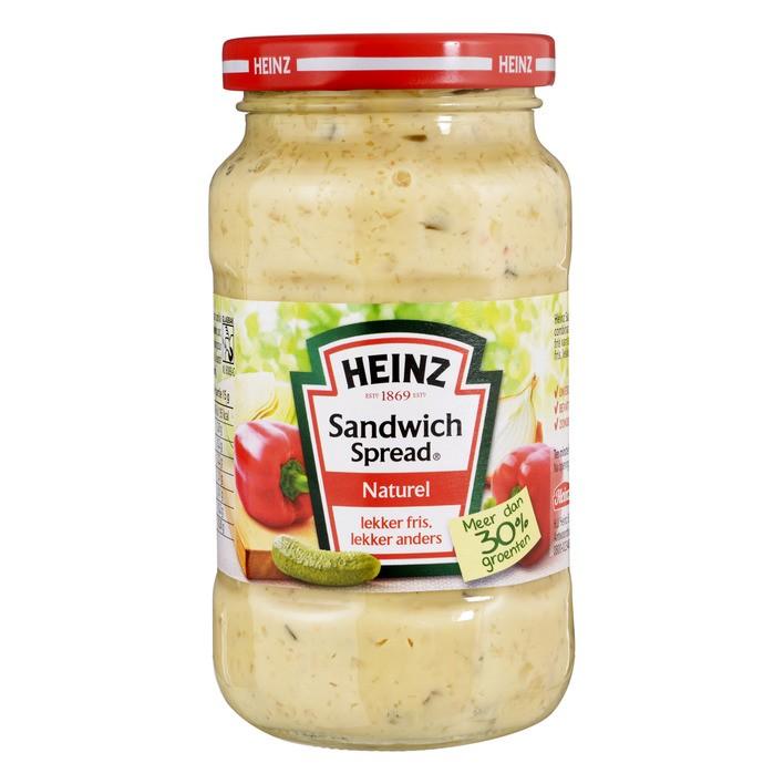 Sandwichspread Heinz naturel 300 gram