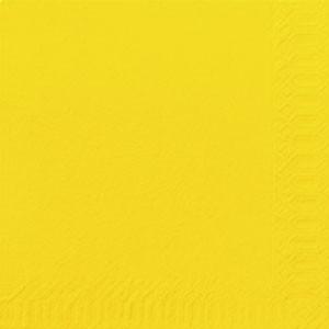 Servetten geel 150 stuks Duni