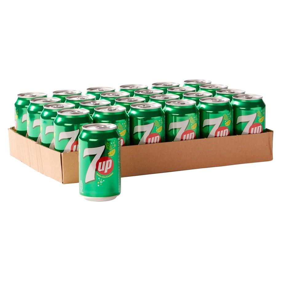 7 Up blikjes 24 x 0,33 liter