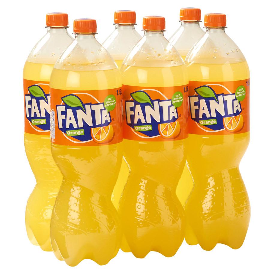 Sinas Fanta Orange 6 x 1,5L
