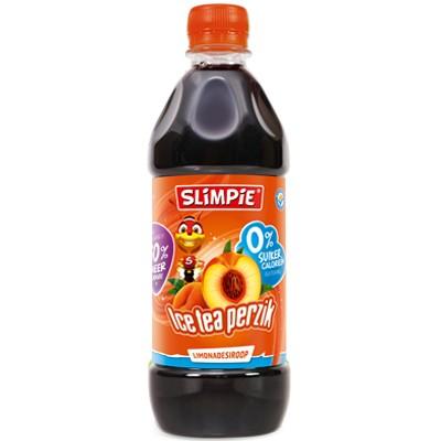 Siroop Slimpie Ice tea perzik fles 580 ml