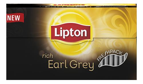 Thee Lipton Earl grey fresh 25 zakjes