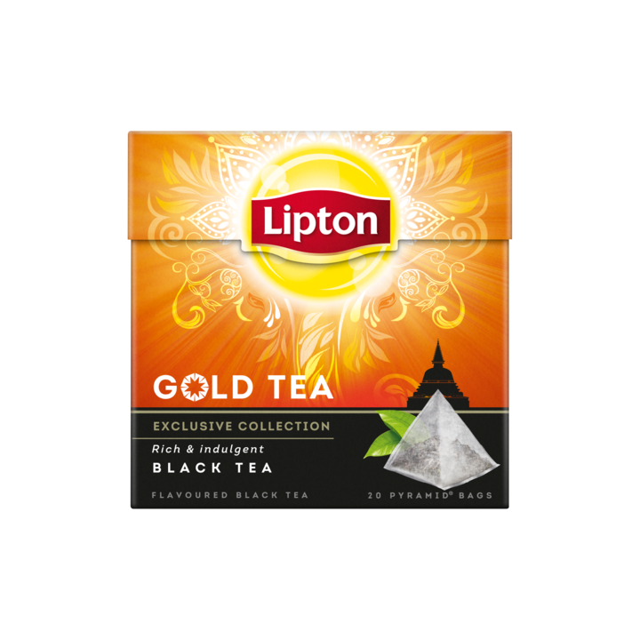Thee Lipton majestic gold tea 20 zakjes