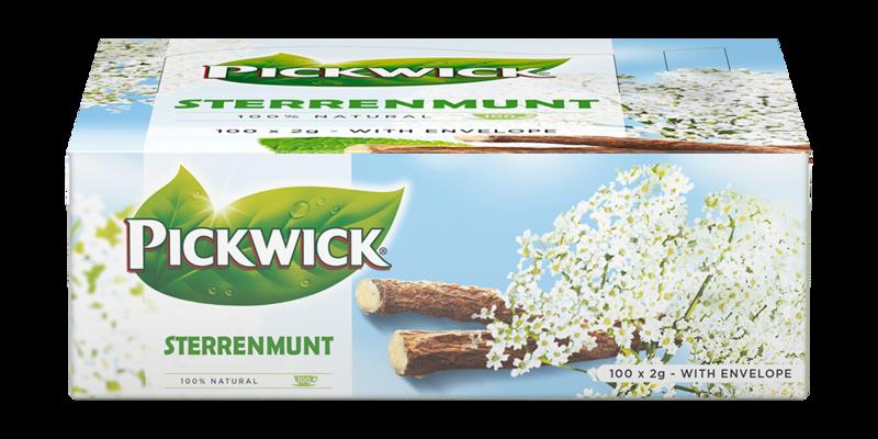 Thee Pickwick Sterrenmunt 100 x 2 gram