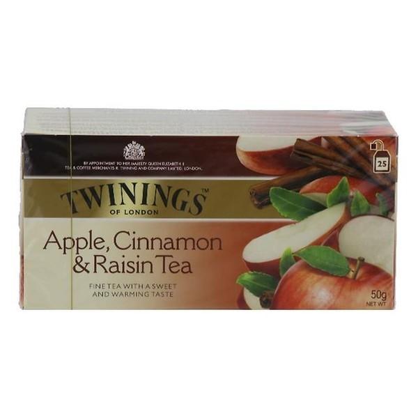 Thee Twinings kaneel, appel & rozijn pakje
