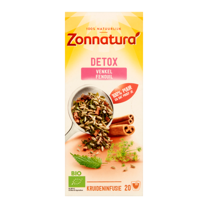 Thee Zonnatura detox  20 zakjes