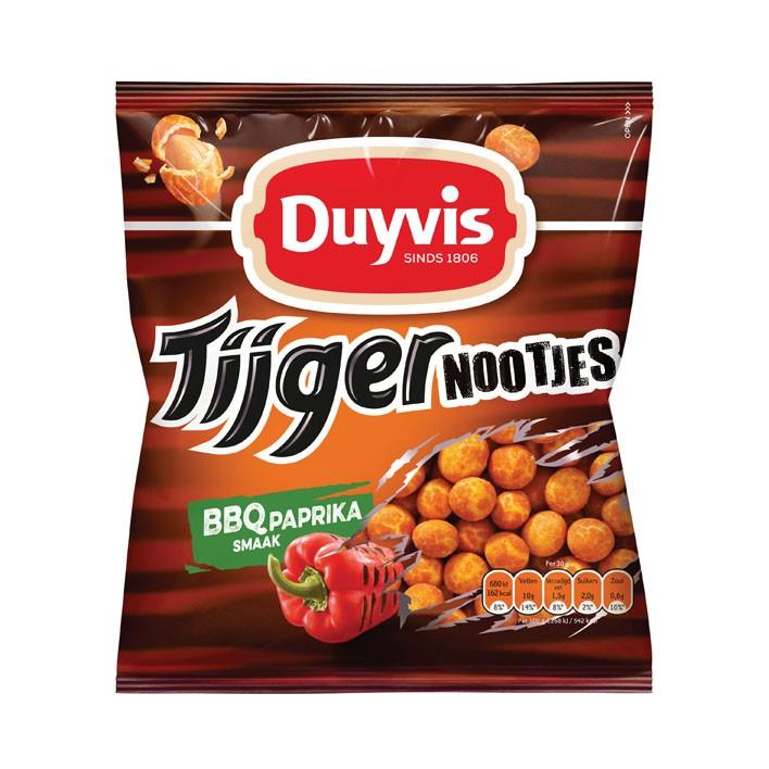 Tijgernootjes Duyvis BBQ paprika 280 gram