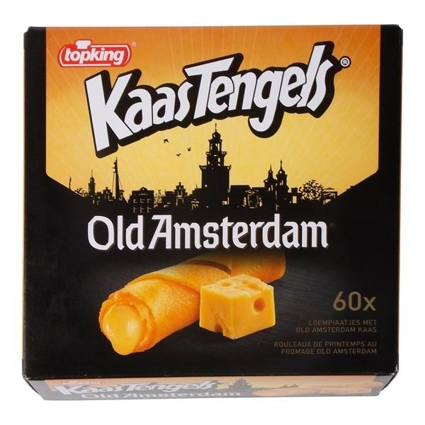 Topking kaasstengels Old Amsterdam 60 x 15 gram