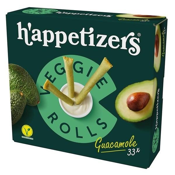 Topking Veggie rolls guacamole 33 x 16 gram