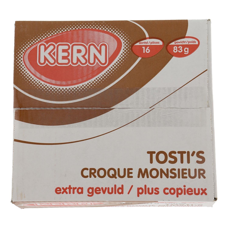 Tosti's ham/kaas extra gevuld Kern doos 16 stuks