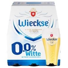 Wieckse wit bier 6 x 30cl alcohol vrij bier