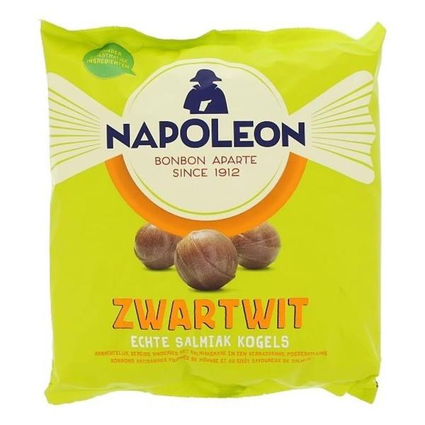 Zwart wit snoepkogels Napoleon 1000 gram