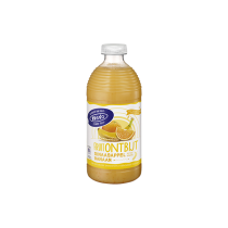 Hero fruitontbijt Sinaasappel banaan fles 750 ml