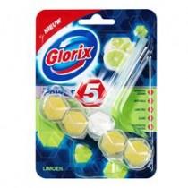 Glorix Power 5 lemon toiletblok  pk 55 gram