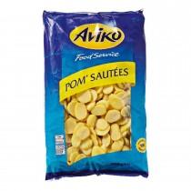 Aardappelschijfjes Aviko diepvries 2500 gram