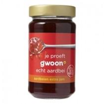 Aardbeienjam extra G'woon 12 x 400 gram