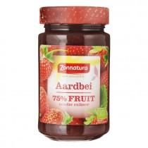Aardbeienjam Zonnatura fruitspread 250gram