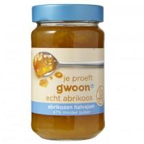 Abrikozen halvajam G'woon 320 gram