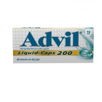 Advil liquid caps 200 mg 10 stuks