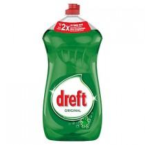 Afwasmiddel Dreft groen flacon 1,48 liter 1 + 1 GRATIS