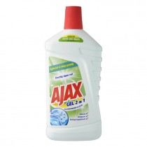 Ajax gel 2 in 1 met bleek 1L