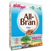 All Bran Kelloggs flakes 375 gram