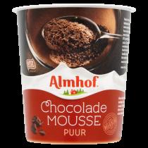 Almhof pure chocolade mousse 200 gram