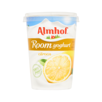 Almhof roomyogurt citroen 500ml