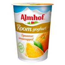 Almhof roomyogurt spaanse sinaasappel 500ml