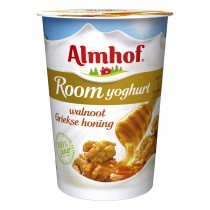 Almhof roomyogurt walnoot griekse honing 500ml
