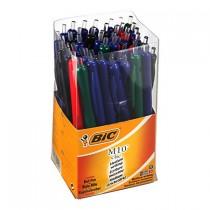 Balpennen Bic M10 assorti  koker 50 stuks