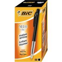 Balpennen schrijfkleur zwart  BIC 50 stuks