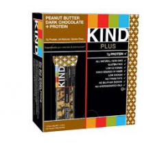 BE KIND bars Peanut Butter Dark chocolate +protein doos 12 repen a 40 gram