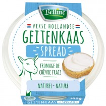 Bettine Geitenkaas spread naturel 125 gram