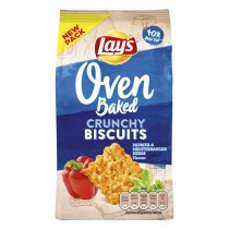 Biscuits Lay's oven baked paprika & mediterranean herbs flavour 90 gram