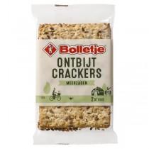 Bolletje Ontbijtcrackers meerzaden 36 x 45 gram