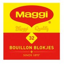 Bouillontablet Maggi naturel 32 stuks