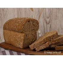 Brood Grof volkoren HALF vers gesneden