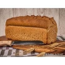 Brood knip bruin HALF vers gesneden