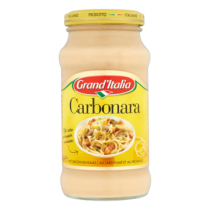Carbonarasaus Grand'Italia bacon kaas 260gram