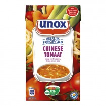 Chinese tomatensoep in pak Unox 1L