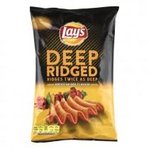 Chips Lay's deep ridged American BBQ 145 gram