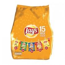 Chips Lay's Mixpack 5 smaken 15 zakjes