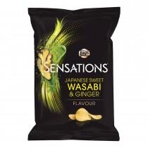 Chips Lay's sensations Japanse sweet wasabi & ginger 150 gram