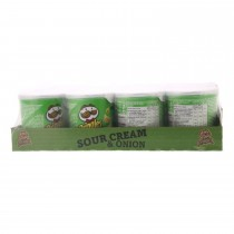 Chips Pringles Sour cream & onion 12 x 40 gram